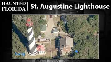 St. Augustine Lighthouse – According to the website Haunted Florida, the lighthouse in St. Augustine is one of the most popular haunted spots in the state. Children who drowned near the structure and a light keeper who fell from its peak are believed to haunt it.