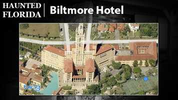 Biltmore Hotel – USA Today's travel website claims the Biltmore Hotel at Coral Gables is known for strange happenings. A woman in white is reported to prowl the premises while doors open and shut without anyone turning the knob.