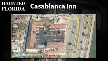 Casablanca Inn – A lonely female ghost apparently haunts the Casablanca Inn in St. Augustine. USA Today says several witnesses have seen a disembodied lantern held above the Casablanca. Many believe it's the spirit of an innkeeper waiting for a smuggler she fell in love with who was lost at sea during a storm.