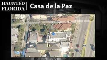 Casa de La Paz – This former St. Augustine bed and breakfast is said to be haunted by a woman who died in a storm, as well as a boy and a man with a handlebar mustache, according to USA Today. The building is no longer an inn – no word on whether the spirits have checked out, though.