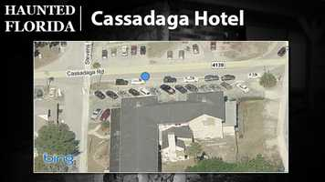 """Cassadaga Hotel – According to Yahoo's list of Real Haunted Places in America, the Cassadaga Hotel is one of the most intriguing spots for paranormal activity. Surrounded by a spiritualist camp, the hotel is said to be occupied by a spirit named """"Arthur"""" and several others. Many folks who stay in Arthur's room, number 22, say they can smell his cigars and gin."""