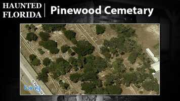 Pinewood Cemetery – This resting place is reportedly home to the ghost of Mary Burgoyne. USA Today says she's been seen carrying flowers for her husband, who died before her.