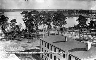 1800s - Panoramic view from the Seminole Hotel