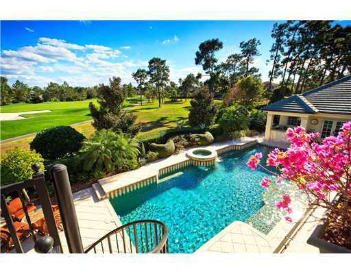 The property features not only afabulous water view, but also a golf front view as well.