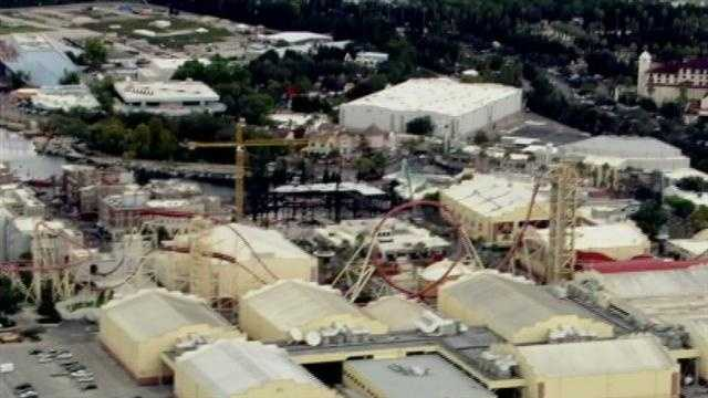 See photos taken from Chopper 2 over Universal Studios on Oct. 15, 2012.