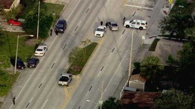 The Orlando Police Department is investigating a bank robbery at the BB&T Bank on Corrine Drive.