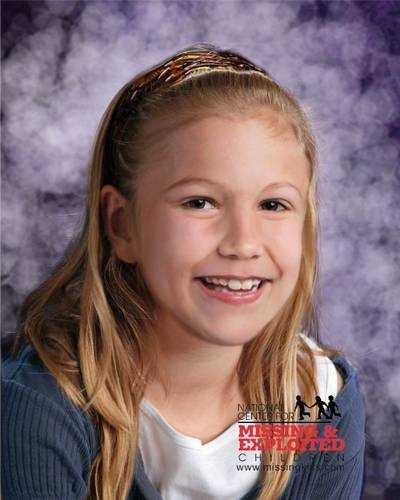 Haleigh Cummings, age now 10: Missing from Satsuma. Haleigh's photo is shown age-progressed to 8 years. She was last known to be sleeping in her home, in the area of Hermit's Cove in Satsuma, Florida, on the evening of February 9, 2009. Haleigh was discovered missing during the early morning hours of February 10, 2009. She may still be in the local area. Haleigh's ears are pierced.
