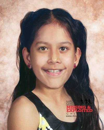 Jacqueline Hernandez, age now 12: Missing from Clermont. Jacqueline's photo is shown age-progressed to 9 years. She was allegedly abducted by her father, Pablo Hernandez, on December 22, 2007. A felony warrant for Kidnapping was issued for Pablo on December 27, 2007. They may travel to Mexico.