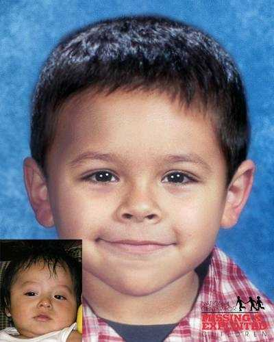 Nery Ventura-Santos, age now 4: Missing from La Belle. Nery's photos is shown age-progressed to 2. They are believed to be in the company of their mother, Evangelina Santos. A felony warrant is on file for the companion. They may also be traveling in the company of an adult male. They may have left the country and traveled to Mexico.
