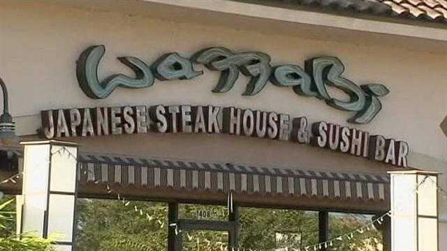 Winter Park restaurant Wazzabi is open for lunch as usual Tuesday despite the fact that the restaurant's owner and one of his chefs were arrested for allegedly attacking two disgruntled customers after they refused to pay for a meal, police say.