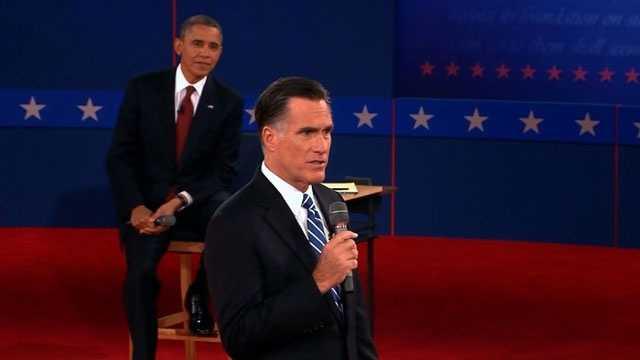 Obama-Romney, 2nd presidential debate