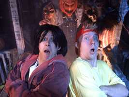 1992: Bill and Ted got into the act during the second year, which was the first time Universal would use the Halloween Horror Nights moniker.