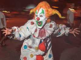 2000: Jack the Clown spent his first year terrorizing guests at Universal.