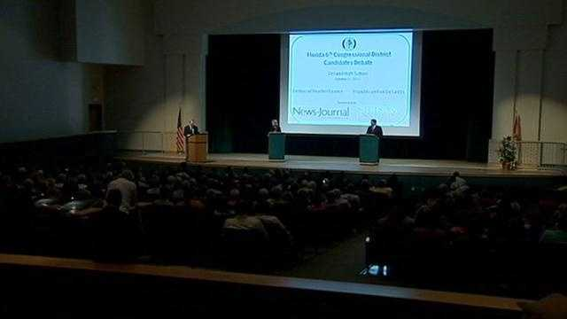 District 6 debate held at DeLand High School