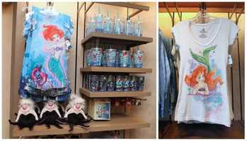 Guests who wish to take home a piece of The Under the Sea ~ Journey of The Little Mermaid attraction can do so now at the Magic Kingdom.