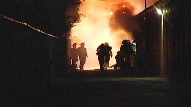Investigators are looking into a fire that ruined several storage units in Seminole County.