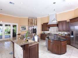 """Realtor.com calls this kitchen """"a chef's dream"""" and you can see why."""