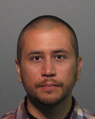 George Zimmerman's first mug shot.