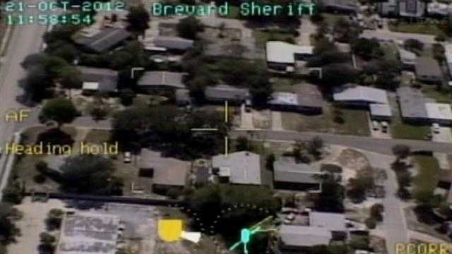 Thieves in Brevard County are finding it tougher to get away with crime lately because the sheriff's office has had a lot of success, tracking down suspects from the air.