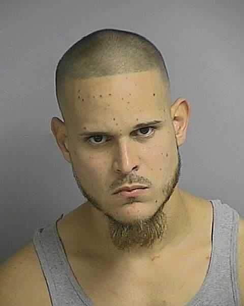Jacob Ortiz: Domestic battery by strangulation. False imprisonment.