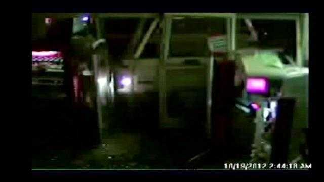 Burglary suspects crash truck into CVS pharmacy, police say