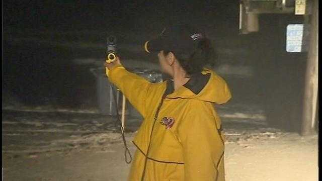Aixa Diaz reporting for Sunrise at Cocoa Beach.
