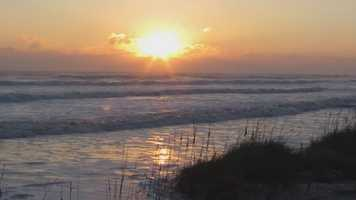 Take a look at the Volusia County coastline after Sandy skirted by.