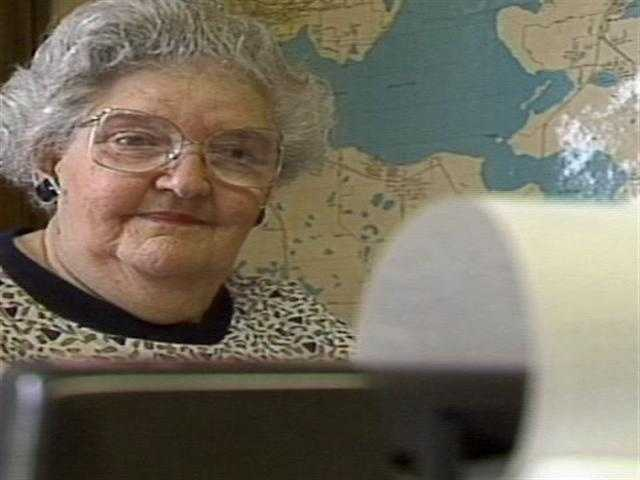 Esther White calls an AM radio station in Leesburg her second home. Watch this story
