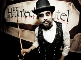 10. The Haunted Hotel in San Diego, CA.