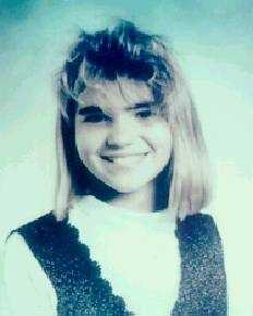 "Jennifer Renee Odom, killed in Feb. 1993Florida Department of Law Enforcement:On Friday, February 19, 1993, Jennifer stepped off her school bus around 3 p.m., waved goodbye to friends, and started walking the short 200 yards to her home in rural Pasco County, FL. Children on the bus reported they saw a faded blue pickup truck slowly following Jennifer as she walked home. Jennifer never made it to her door. During the next days, law enforcement equipped with police dogs and hundreds of volunteers scoured 60 square miles of rolling groves, pastures and woods surrounding the tiny Pasco town of Dade City. On Thursday, February 25, 1993, a man and woman searching an abandoned orange grove in southeast Hernando County, FL, found Jennifer. Jennifer's clothing, including the red sweater and Hooter's jacket, have not been found. Approximately two years later on Thursday, January 5, 1995, a couple hunting for scrap metal in a rural area of Hernando County discovered Jennifer's missing book bag and clarinet case. The bag and case were found in Western Hernando County.The suspect vehicle is a full size, older unknown model pick-up truck, blue in color. Jennifer was last seen wearing a white zip-up ""Hooters"" sweat jacket with orange lettering on the left sleeve, a red long sleeve pullover sweater, possible cashmere or angora, a white turtleneck shirt, white denim pants and black lace-up style boots.Anyone with information pertaining to this crime is urged to contact:Det. Michael Nelson, Hernando County Sheriff's Office(352) 754-6830mnelson@hernandosheriff.org Anonymous tips can be made by e-mail to: tips@hernandosheriff.orgor by telephone (352) 797-TIPS/8477"