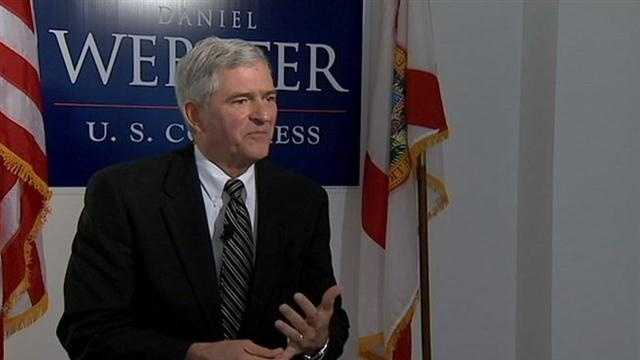 The former Orlando police chief and Democrat trying to unseat Rep. Dan Webster is the target of attacks.
