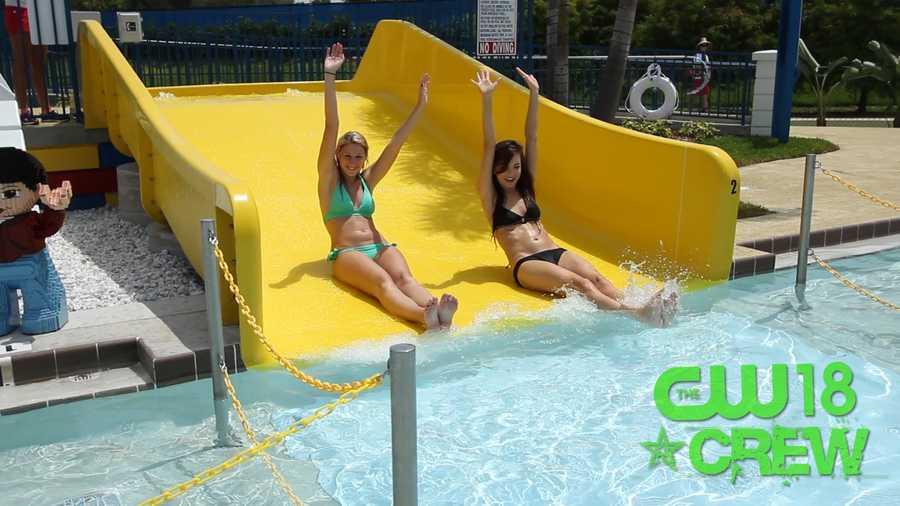 Double the splash.