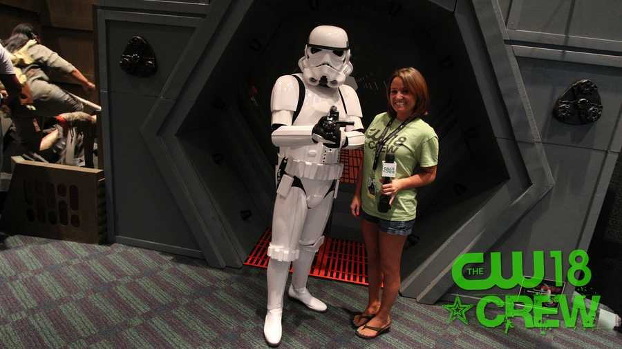 Aren't you a little short to be a Storm Trooper?