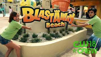 The Crew hits the new Blastaway Beach at Wet 'n Wild.
