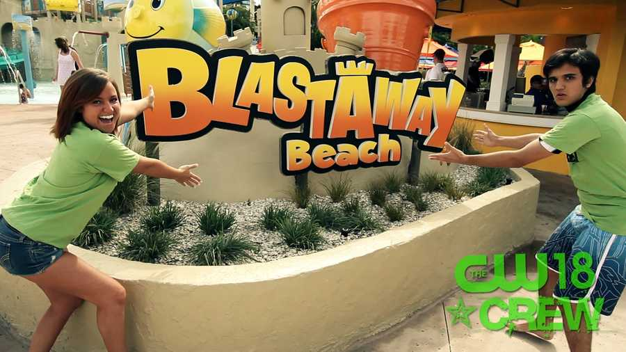 The Crew hits the new Blastaway Beach at Wet 'n Wild.