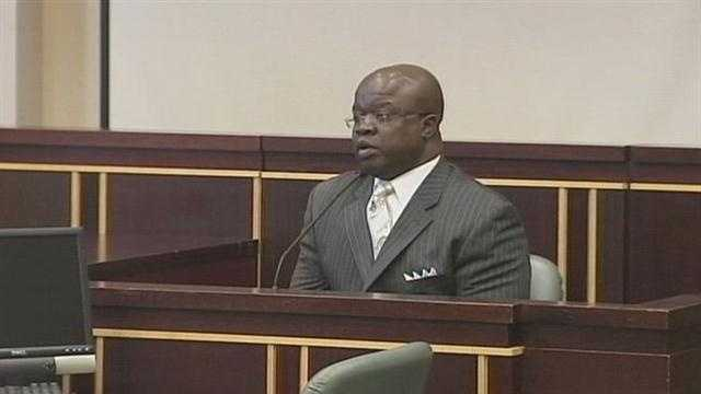 Timothy Davis appears at hearing in son's death