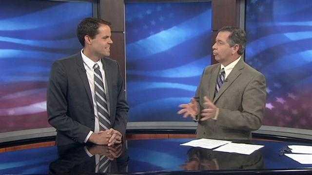 Joe Saunders talks jobs in House district 49 race