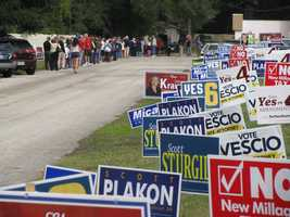 More long lines in Seminole County.