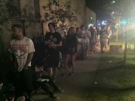 Voters still in line at 7:30 p.m. near UCF.