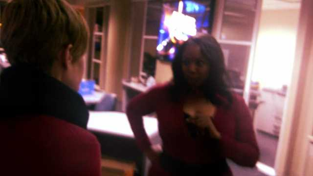 WESH 2's Syan Rhodes goes over coverage plans with assistant news director Kirsten Wolff.