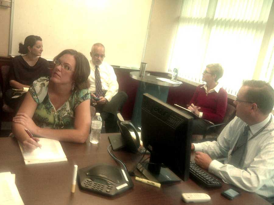 Some of our news managers met early Tuesday to go over the day's coverage plans.
