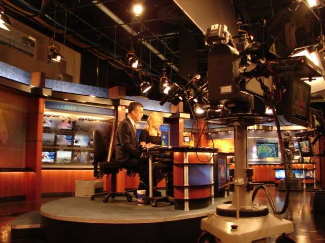 Jim and Martha anchor an update on WESH 2.