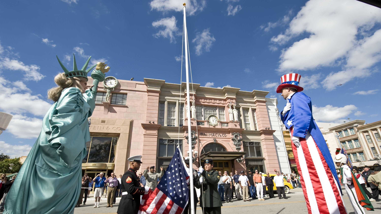 Universal Veterans Day parade