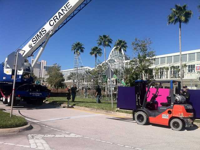 A huge amusement park expo opens Tuesday at the Orange County Convention Center.