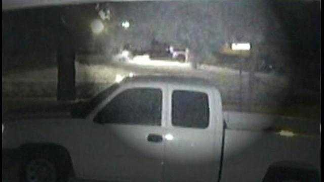 Raw Video: Surveillance video captures shots fired during Brevard Co. triple shooting