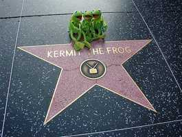 Kermit the Frog - 6801 Hollywood Boulevard (November 14, 2002) Television
