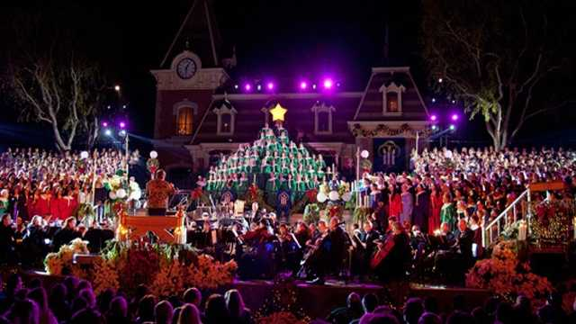 About 800 performers participate in the Epcot Candlelight Pocession and 200 guest choirs join in at some point during the show's 5-week run.