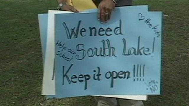 Parents and students are rallying to save schools that are targeted for closing in Brevard County.