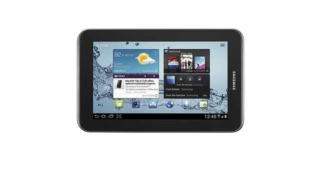 An 8GB Samsung Galaxy Tab 2 will also cost $179.99.