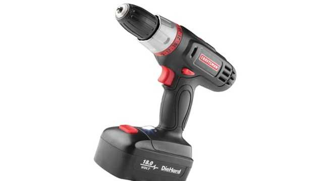 A Craftsman 18-volt drill will go for $29.99.